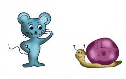 Puž i miš